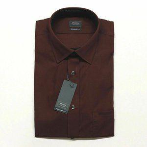Arrow Dress Shirt Port Wine - S, 14-14.5, 32/33